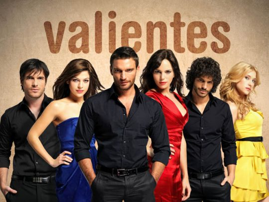 Elenco de la versión española de la telenovela Valientes