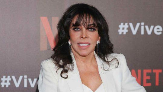 Verónica Castro en la presentación de Viva el príncipe