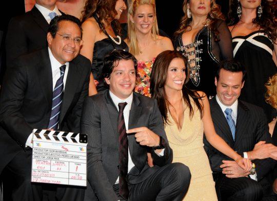Fotos de la presentación de la telenovela Quiéreme tonto en Guanajuato
