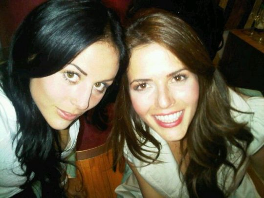 Claudia Álvarez y Zuria Vega en la serie El Grecco