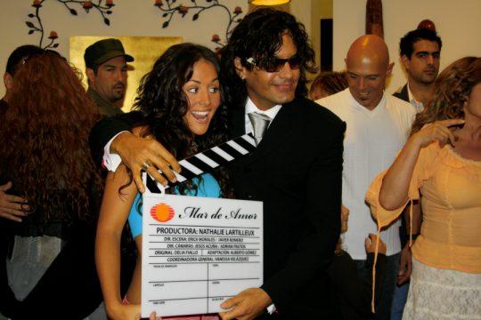 Inician las grabaciones de la telenovela Mar de Amor