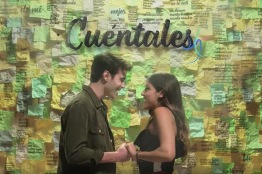 """Cuéntales"", videoclip de la serie Bia"