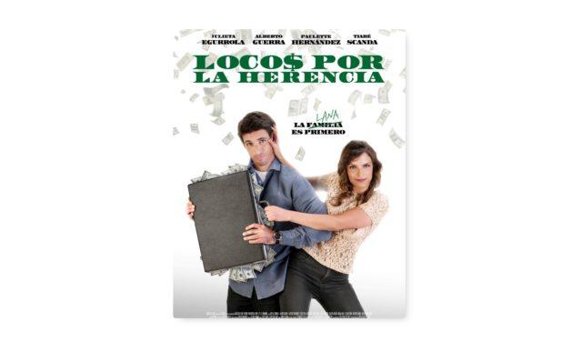 Alberto Guerra en la película Locos por la herencia