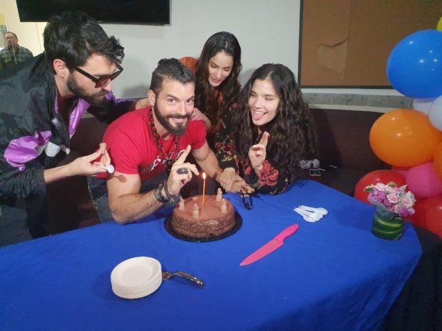Cita a Ciegas festeja cumpleaños de Adrián Di Monte