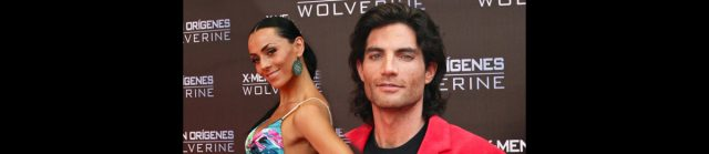 Ivonne Montero y Víctor González en la premiere de X-Men Orígenes: Wolverine