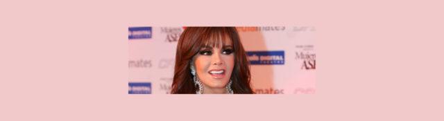 Lucía Méndez en la alfombra roja de Mujeres Asesinas