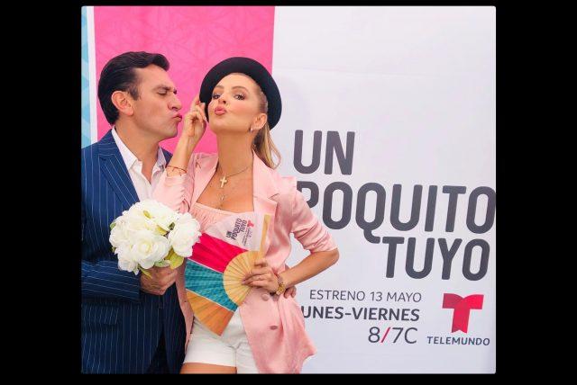 "Personajes de la telenovela ""Un poquito tuyo"""