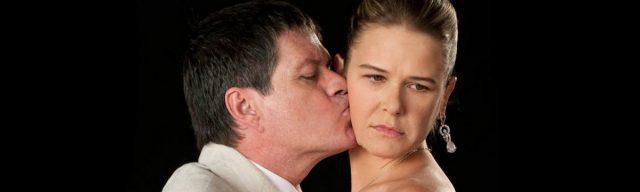 Poster de la telenovela Para volver a amar: Alejandro Camacho y Nailea Norvind