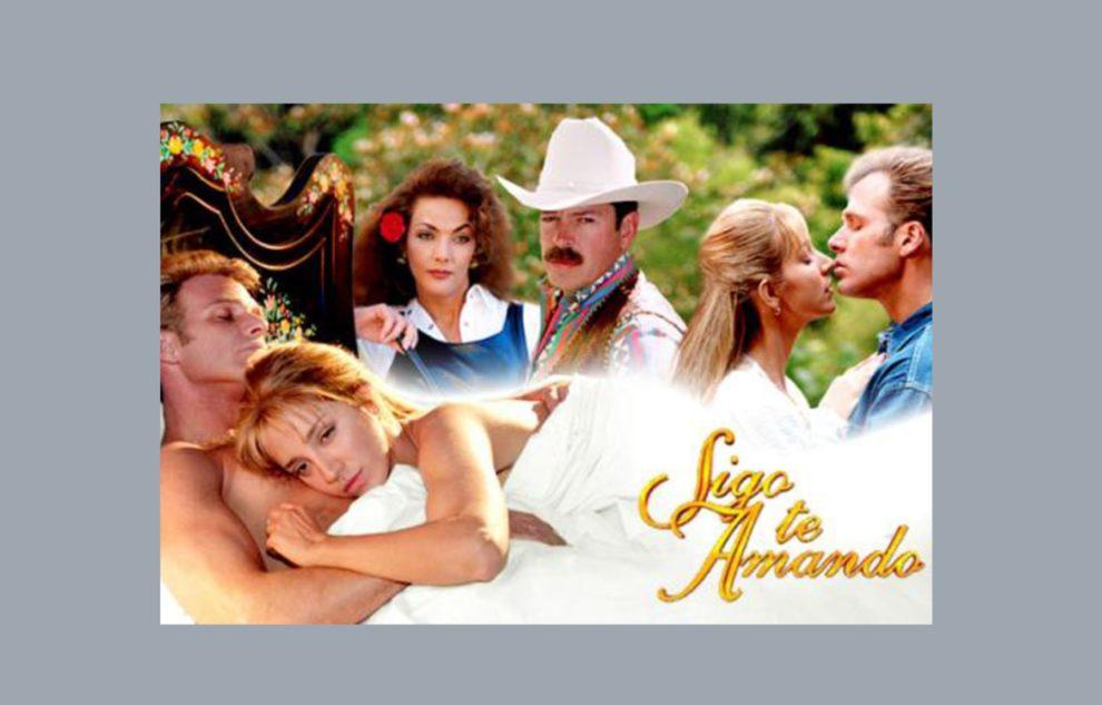 poster telenovela te sigo amando