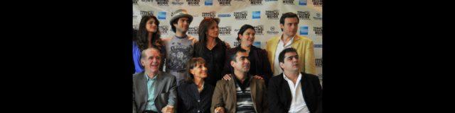 Fernando Luján, Diana Bracho y Silvia Navarro en Todos eran mis hijos