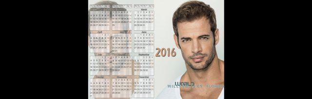 Ya a la venta el calendario de William Levy