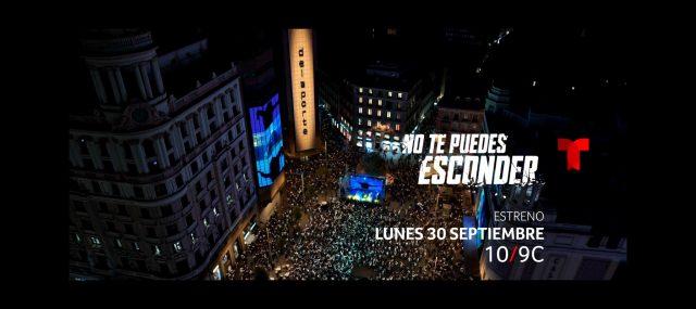 Serie No te puedes esconder, protagonizada por Blanca Soto y Eduardo Noriega