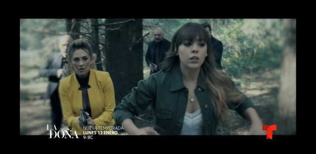 Fotos de Danna Paola en La Doña, segunda temporada