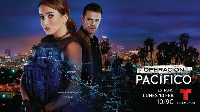 Personajes de la serie Operación Pacífico