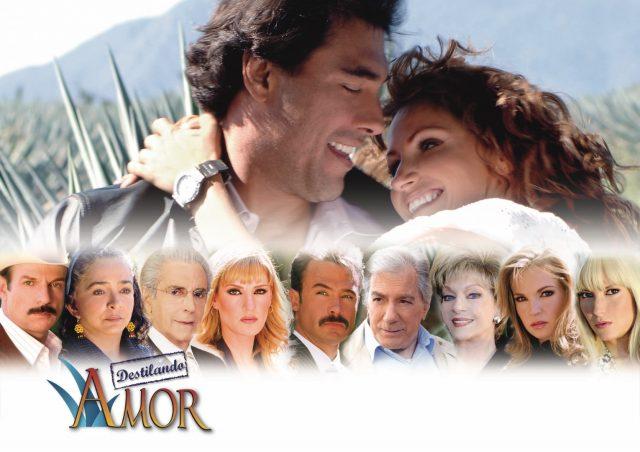 Elenco de la telenovela Destilando amor: Antes y Después 2020