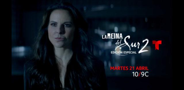 """Telemundo estrena """"La reina del sur 2 edición especial"""""""