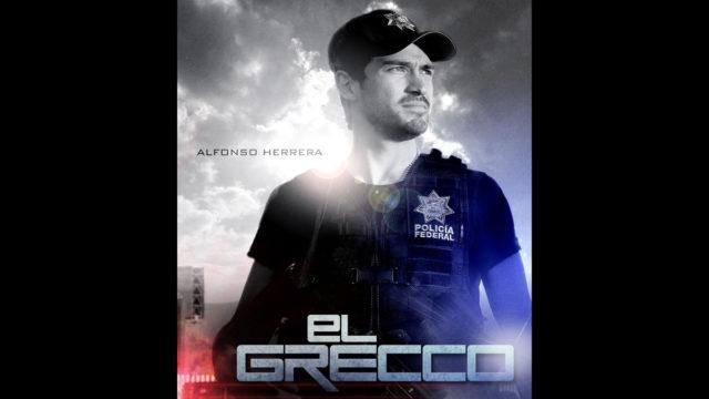 Posters de la serie El Grecco (Alfonso Herrera – Alberto Estrella)