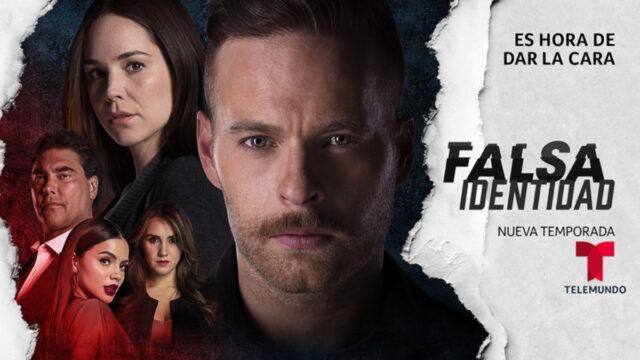 Estreno nueva temporada Falsa Identidad, con Luis Ernesto Franco y Camila Sodi