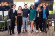 elenco telenovela fuego ardiente personajes