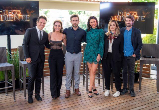 Personajes de la telenovela Fuego ardiente